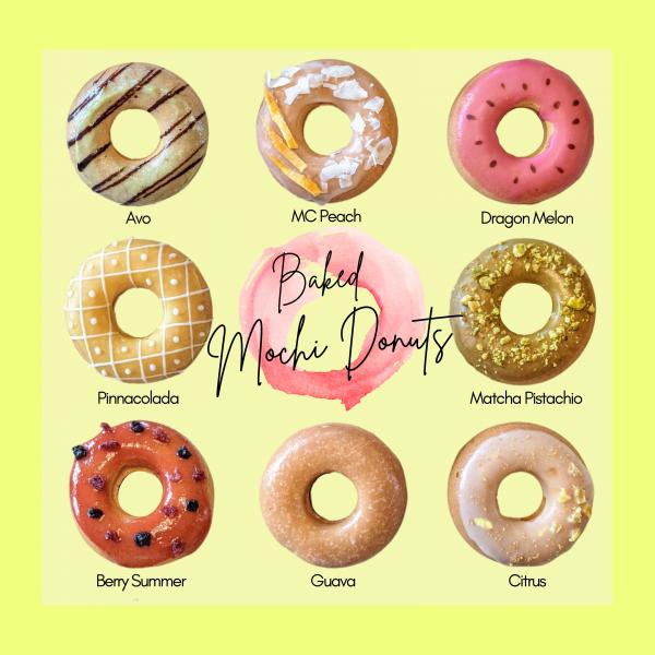 Baked Mochi Donuts